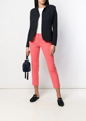 Armani slim cropped trousers