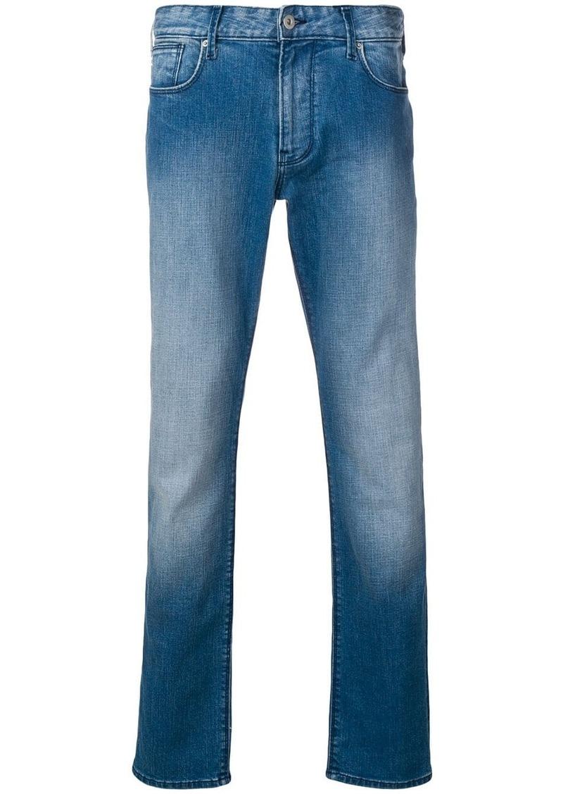 Armani slim denim jeans