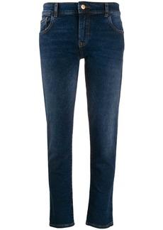 Armani slim-fit cropped jeans