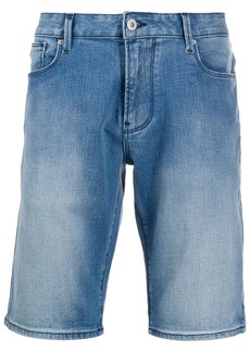 Armani slim-fit denim shorts