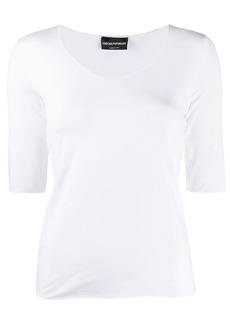 Armani slim-fit knit top