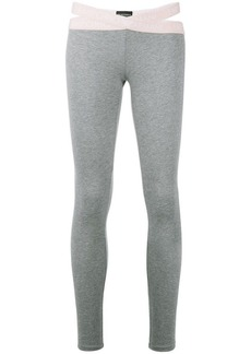 Armani slim fit leggings