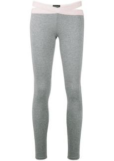 Armani slim fit leggings