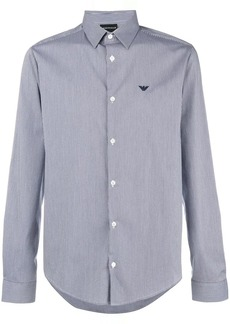 Armani slim-fit logo shirt