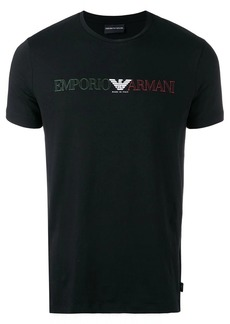 Armani slim-fit logo T-shirt