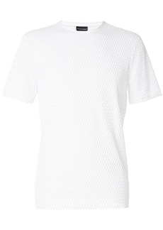 Armani slim-fit mesh T-shirt