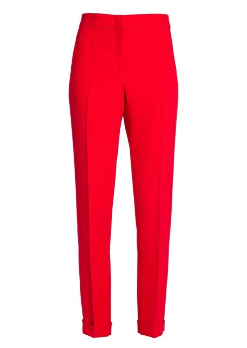 Armani Slim-Fit Silk-Blend Trousers