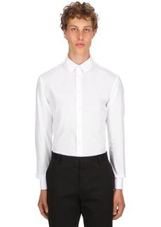 Armani Slim Fit Stretch Cotton Poplin Shirt