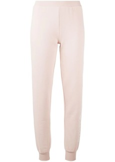 Armani slim fit track trousers