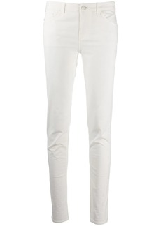 Armani slim fit trousers