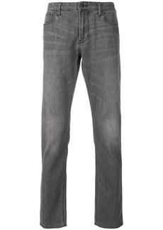 Armani slim stonewashed jeans