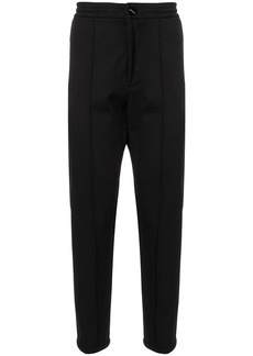 Armani slim textured trousers