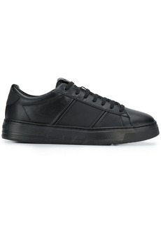 Armani smooth surface sneakers