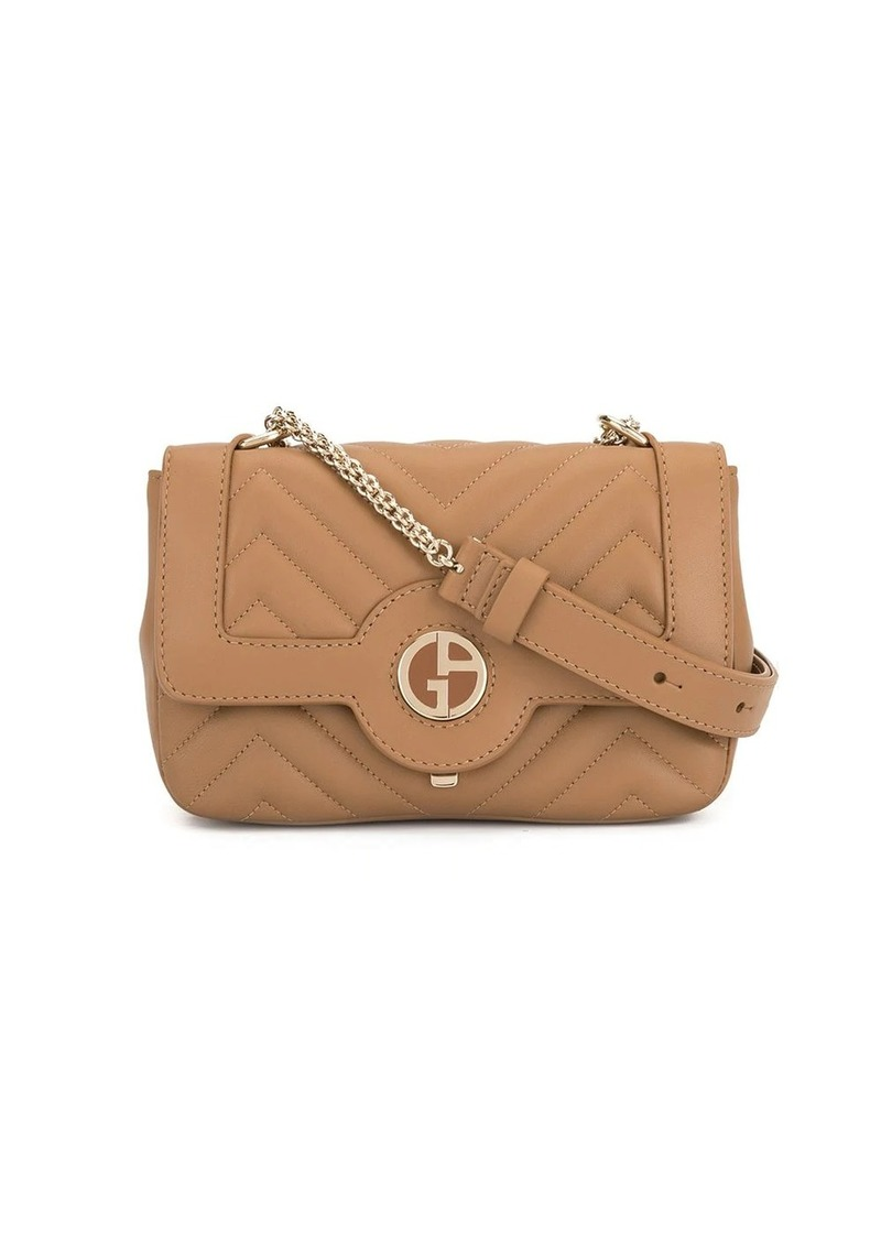 Armani soft logo crossbody bag