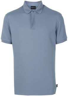 Armani solid-color polo shirt
