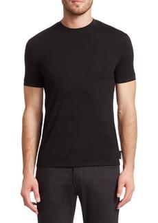 Armani Solid Crew T-Shirt