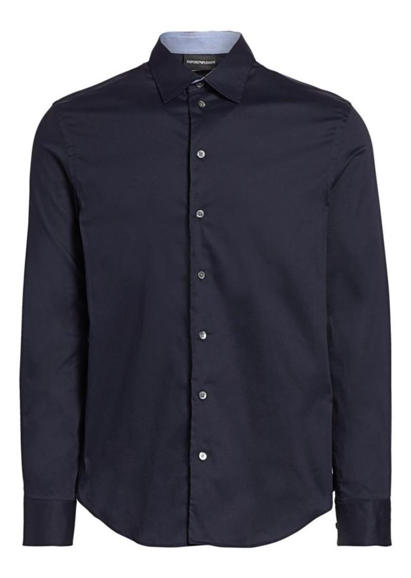 Armani Solid Sport Shirt
