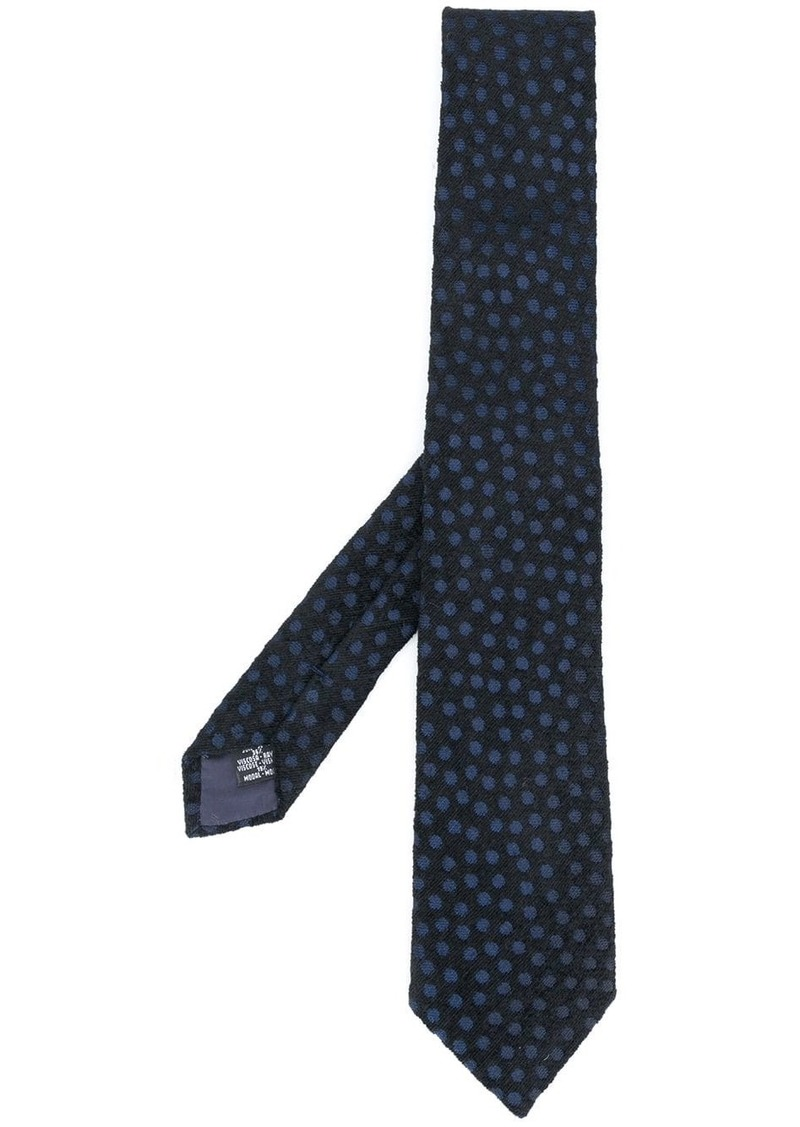 Armani spotted tie