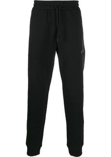 Armani star motif track pants