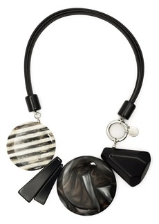Armani statement pendants necklace