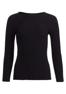 Armani Stitch Knit Top