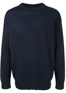 Armani stitched eagle jumper