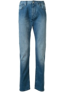 Armani stonewashed slim-fit jeans