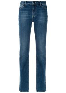 Armani stonewashed straight-leg jeans