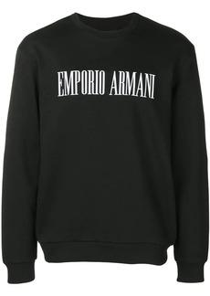 """Armani """"Stop Wishing, Start Doing"""" sweatshirt"""
