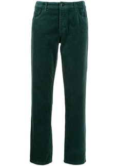 Armani straight cut trousers