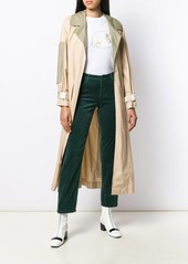 Armani straight cut trousers