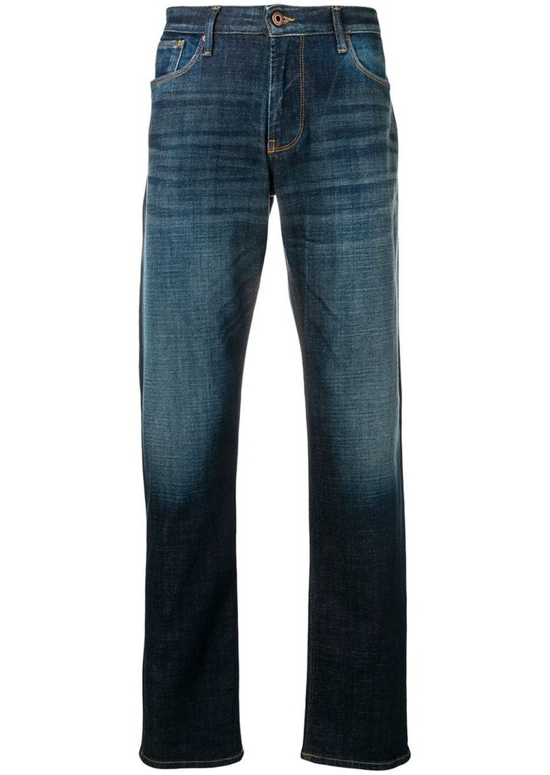 Armani straight fit jeans
