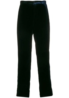 Armani straight fit trousers