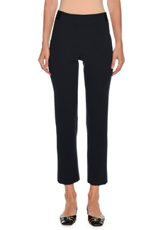Armani Straight-Leg Ankle Wool Pants