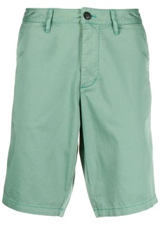 Armani straight leg chino shorts