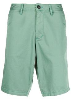 Armani straight leg chino shorts