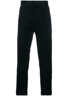 Armani straight-leg chino trousers