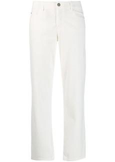 Armani straight-leg corduroy trousers