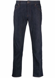 Armani straight-leg cropped jeans
