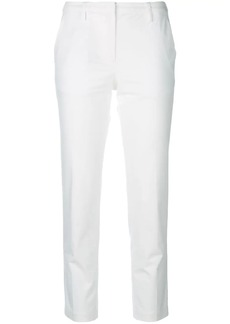 Armani straight-leg cropped trousers