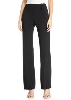 Armani Straight-Leg Flat-Front Pants