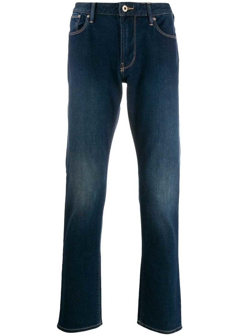 Armani straight-leg jeans
