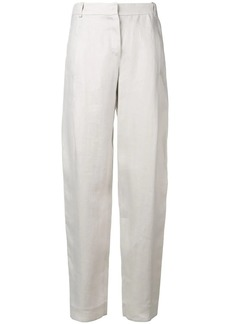 Armani straight leg tailored trousers