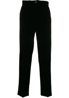 Armani straight-leg track pants