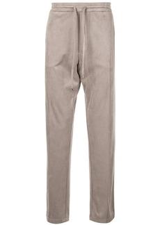 Armani straight leg track pants
