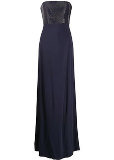 Armani strapless maxi dress