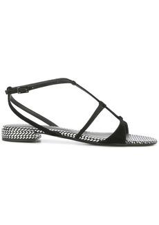 Armani strapped sandals
