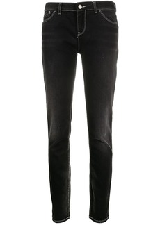 Armani stretch-fit low-waist jeans