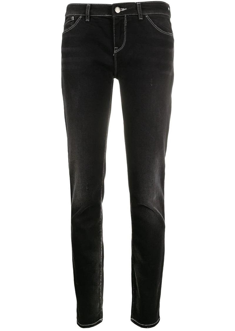 Armani stretch-fit low-waist jeans