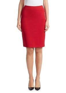 Armani Stretch Jersey Pencil Skirt